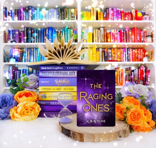 The Raging Ones photo by Bookbookowl.com