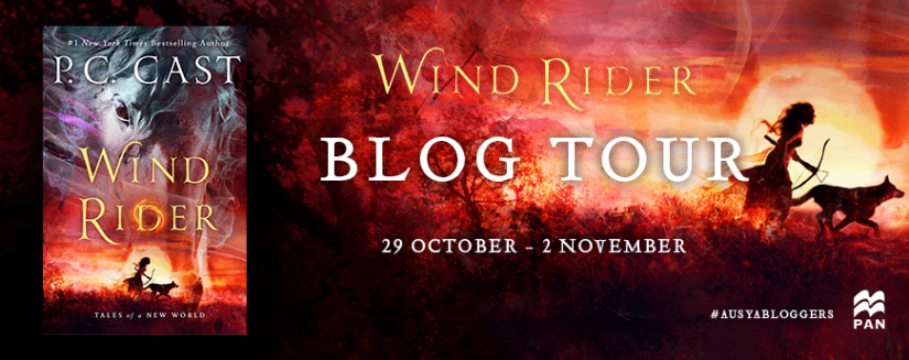 Blog Tour Banner - Wind Rider
