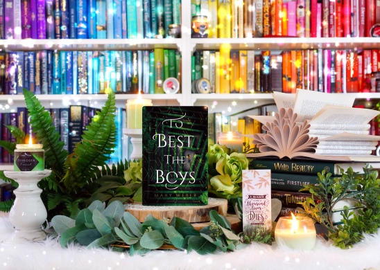 To best the boys. Pic by bookbookowl