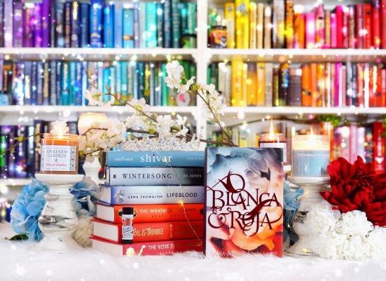 Blanca & Roja pic by bookbookowl